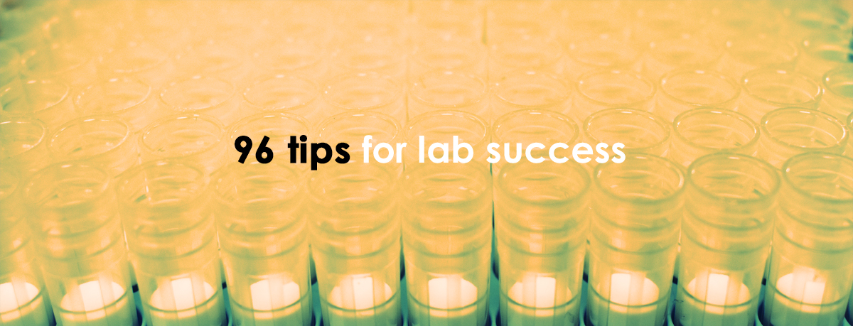 Contribute to our new advice book for the lab